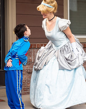 Cinderella - A Dream is a Wish your Heart Makes - Prince Charming - Princess Parties - Dan