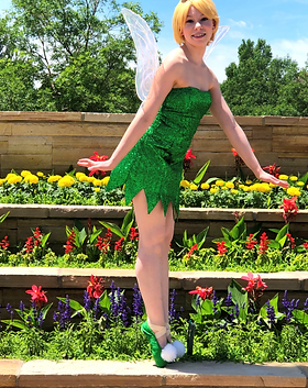 Tinker Bell - Pixie Princess - Fairy Birthday Party - Denver's Princess Company - Dancing