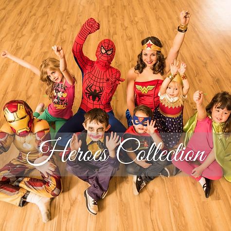 Dancing Princess Parties  Denver's Princess Company  Super Hero Collection.png