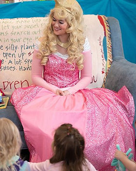 SB - Second Star to the Right Children's Books - Sleeping Beauty Story Time - Denver Princ