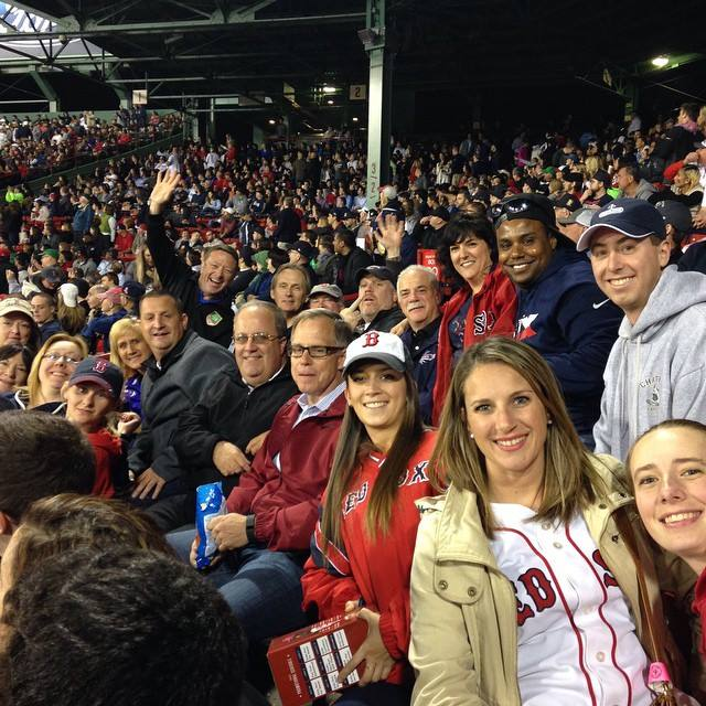 Red Sox game - Spring 2015