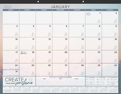 Rise Up Today - Desk Calendar