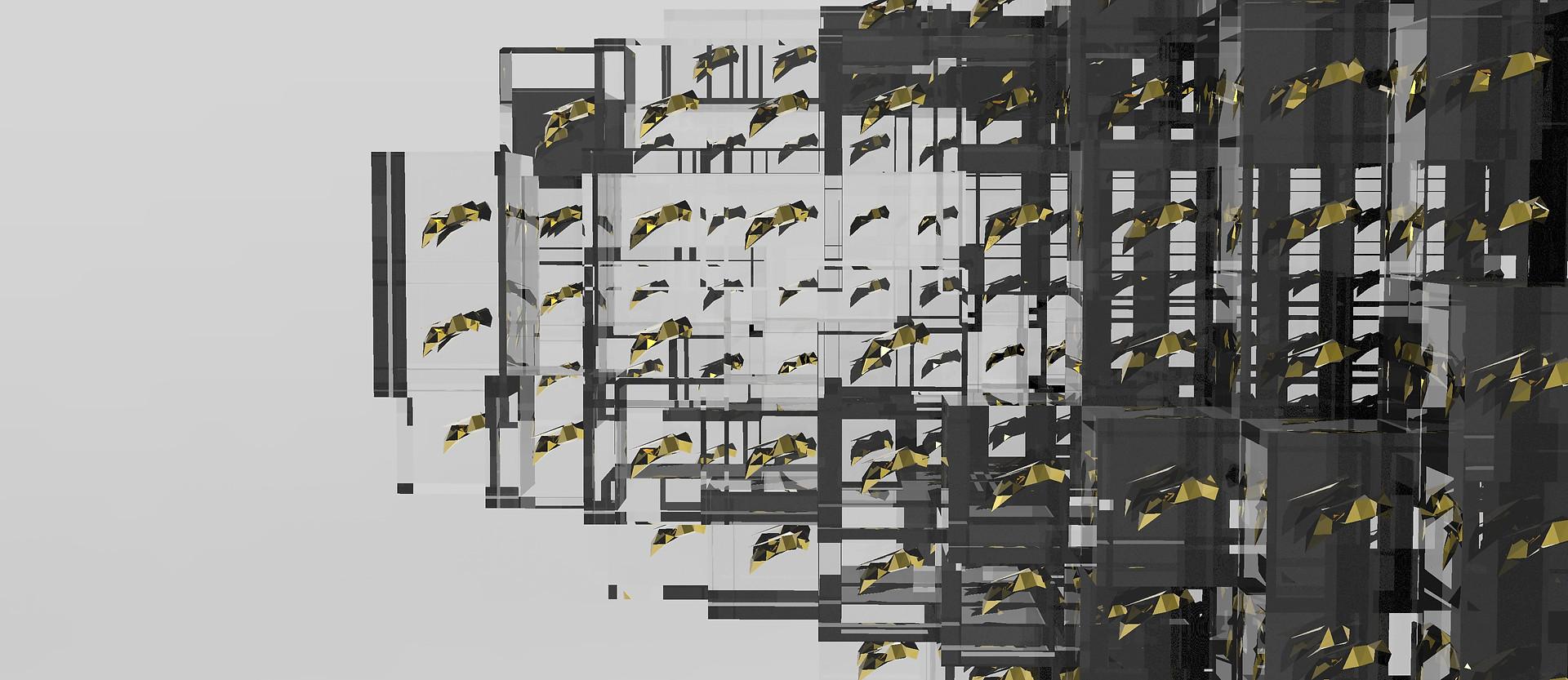 pixels beehive