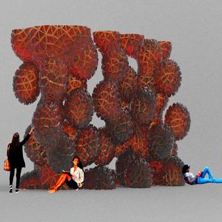 pollen sculpture