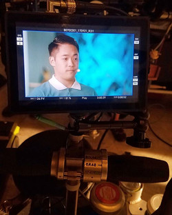 Had a blast shooting #janethevirgin yesterday! Caught a glimpse of playback on the monitor after a s