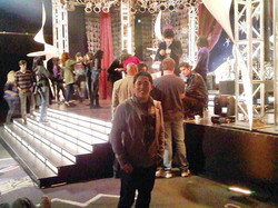 #tbt to my #Victorious day of the second season premiere..