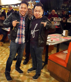 2 Bro'd Asians! (#spinoff of _2brokegirlscbs anyone_) very #blessed & thankful to stand in for _them