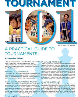 My Chess Life Kids article on preparing