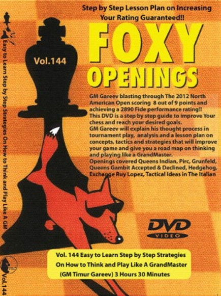 Foxy Series Training DVD Vol. 144