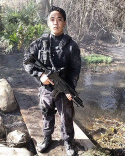 #soldier-ing on! A while back for #TNT's #thelastship, playing #Chinese #mss