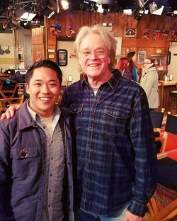 Such an honor and blessing to have worked with the magnificent Don Scardino on #2brokegirls this sea