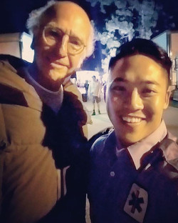 i think it's safe to post my #selfie about nothing that's the most something--with #LarryDavid himse