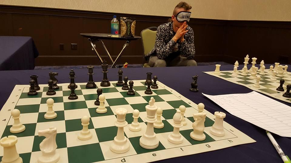 Blindfold King