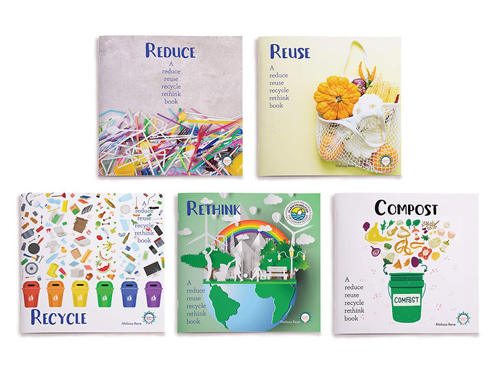REDUCE REUSE RECYCLE LAPBOOK Set of 5