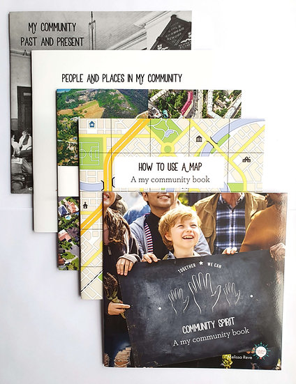 My COMMUNITY LAPBOOK Set of 5