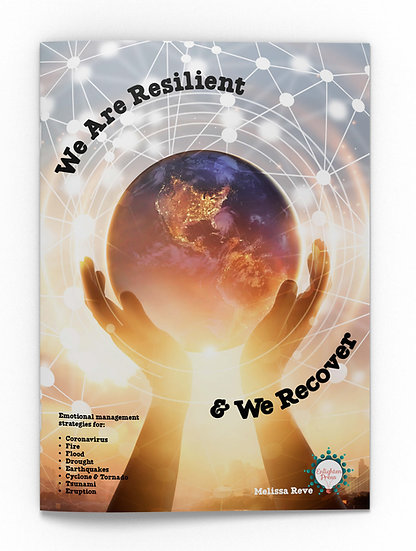 WE ARE RESILIENT & WE RECOVER BIG BOOK