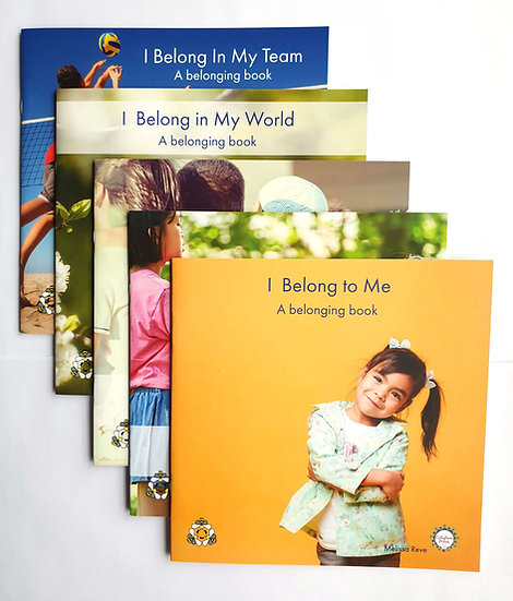 BELONGING LAPBOOK Set of 5