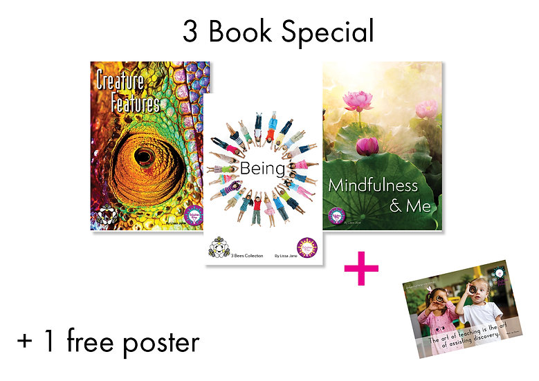 3 + INTRO BOOK PACK