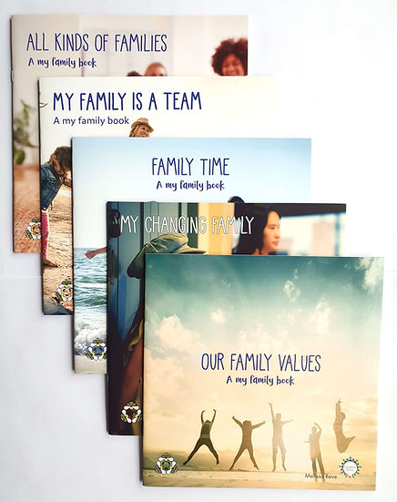 MY FAMILY LAPBOOK Set of 5