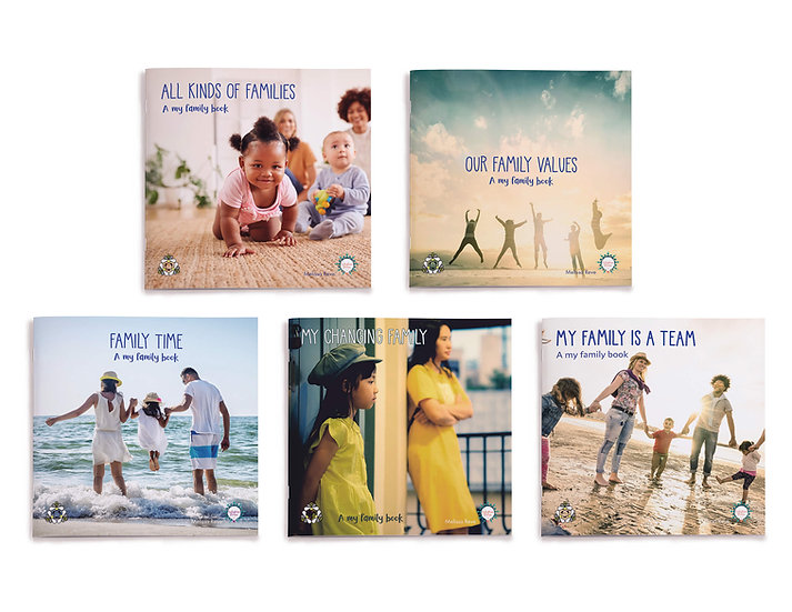 MY FAMILY LAPBOOK Set of 5