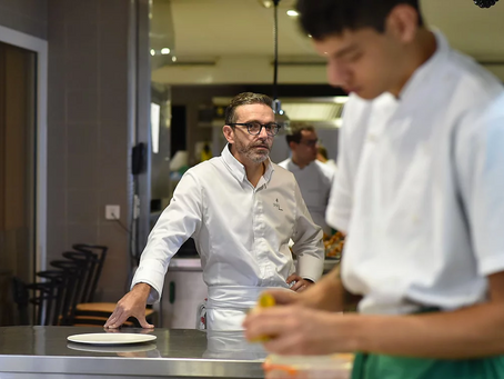 Meet your new workplace role model: the chef giving up his Michelin stars