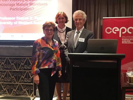 Mature Labour Force Participation Workshop in Canberra
