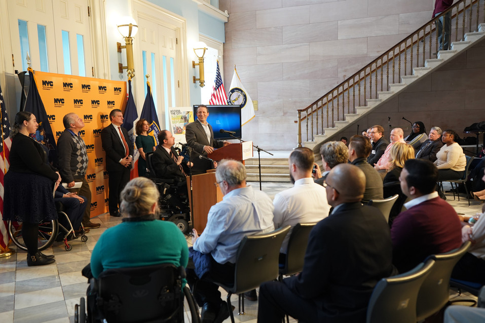 ACCESSIBLE DISPATCH PRESS CONFERENCE