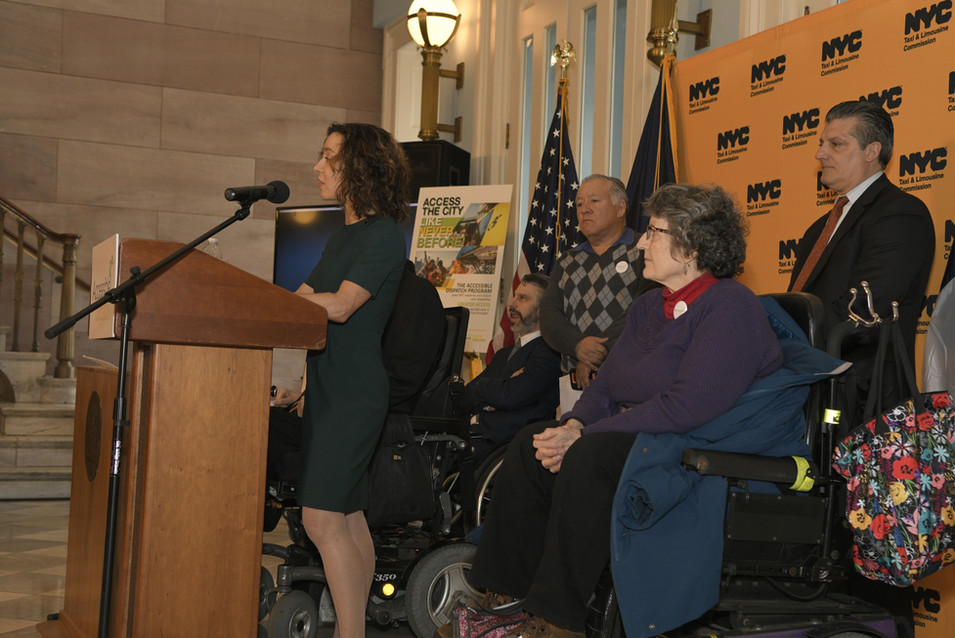 ACCESSIBLE DISPATCH PRESS CONFERENCE EVENT