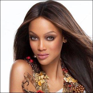 Supermodel Tyra Banks