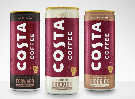 Costa moves into ready-to-drink market with the first launch since Coca-Cola acquisition