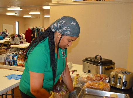 Black Women in Business feed homeless Saturday