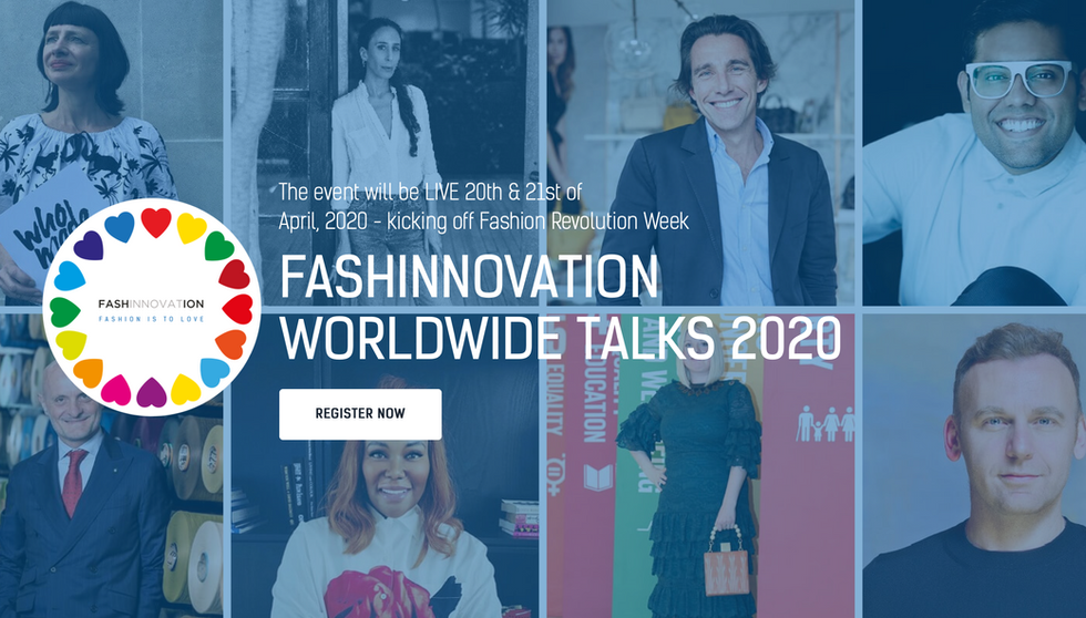 FASHINNOVATION WORLDWIDE TALKS 2020