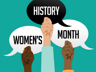 FOR WOMEN'S HISTORY MONTH, LET'S FIGHT THE ENSLAVEMENT OF WOMEN AND GIRLS