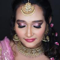 Time Machine Academy Student's makeup work