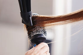 Time machine salon hair blow dry services