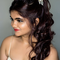 Time machine academy global hair colour hairstyling student's work