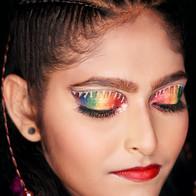 Time machine academy student's work creative makeup