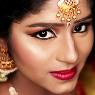 Time Machine Academy student's work south indian bride