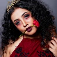 Time machine academy Halloween makeup