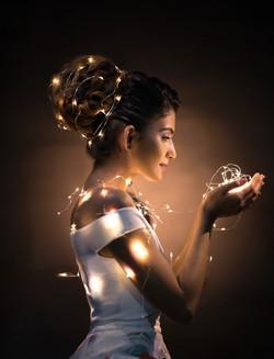 Fairy light Photoshoot