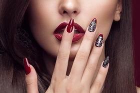Time machine salon nail extension services