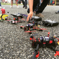 Hobbie Land exhibition #teamwhitesheep #drfromsky #spaceonefpv #dronegear #fpv #quaddiction #fpvraci