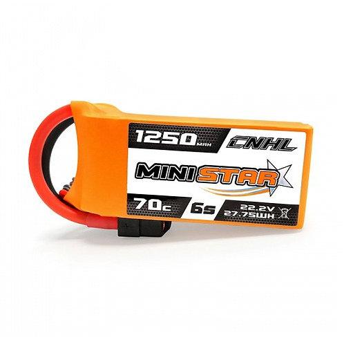 Bateria China Hobby Line CNHL MiniStar 1250mah 6s 70c Lipo Battery
