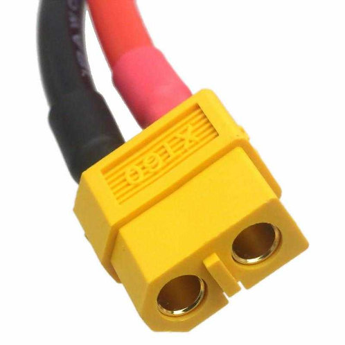 Cable XT60 hembra 12 awn
