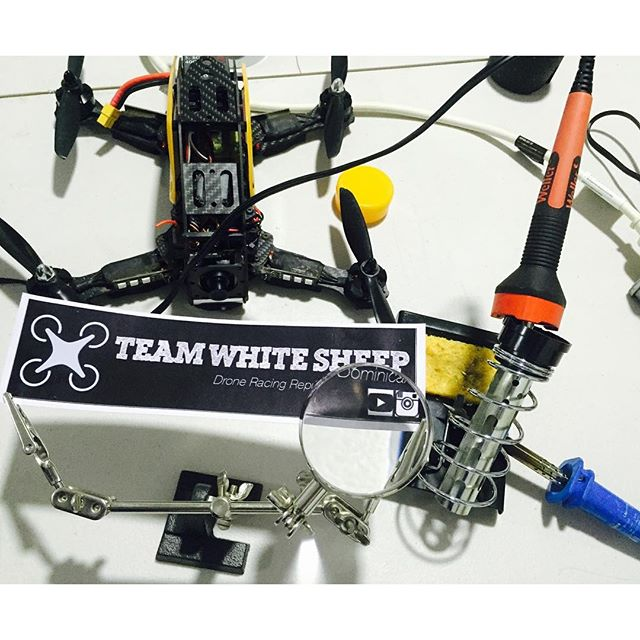 Time to #teamwhitesheep #drfromsky #tws #spaceonefpv #dronegear #fpv #quaddiction #fpvracing #droneo