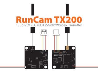 Micro VTX Gran Desempeño RunCam TX200