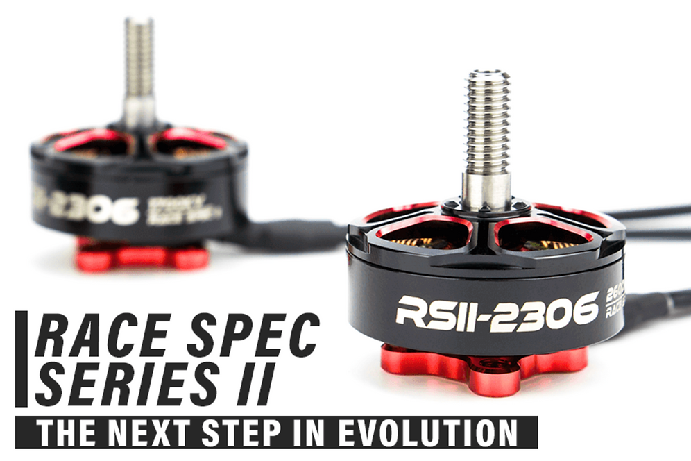 EMAX RSII 2306 Race Spec 1900kv - Brushless Motor (4-6S) | fiebrefpv