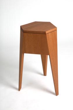 Hexagonal Side Table