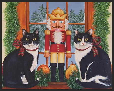 """Nutcracker Sweeties"" Print"