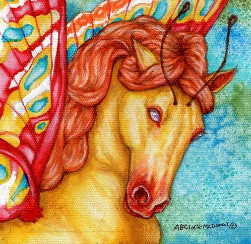 Faery Horse - Fuego (Fire)
